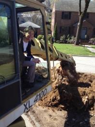Dana Davis Digs the City's Excavator